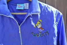 Rare Vintage Child Unisex 1990s Blue Rugrats by IttyBittyClassics