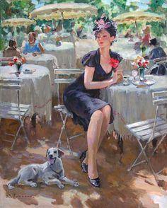 Stanislav Fomenok - Im Cafe #2