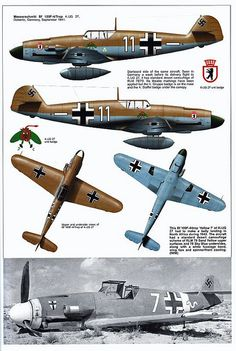 Bf 109 F, F1, F2, F4 and F4 Trop variants (3)   Flickr - Photo Sharing!