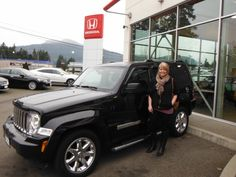 Congratulations Adrienne!  Lovely Jeep, enjoy your travels.