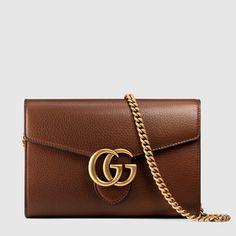 GG Marmont leather mini chain bag