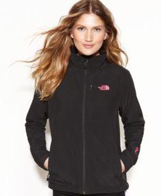 The North Face Apex Bionic Pink Ribbon Zip-Front Jacket | macys.com