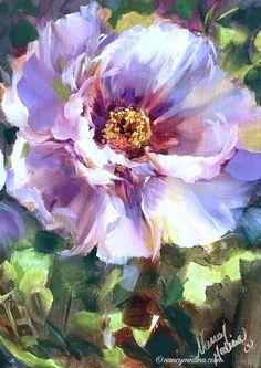 Sunlight Ballet, 16X12, oil Acrylic Painting Flowers, Abstract Flowers, Watercolor Flowers, Watercolor Paintings, Floral Paintings, Arte Floral, Pastel Art, Beautiful Paintings, Flower Art