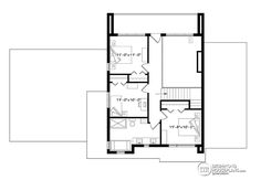 This modern design floor plan is 2142 sq ft and has 4 bedrooms and has 3 bathrooms. Pole Barn Garage, Pole Barn House Plans, Pole Barn Homes, Garage Plans, Small House Plans, Shed Plans, Car Garage, Garage Design, House Design