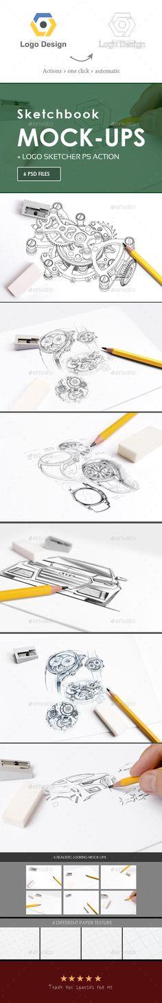 Sketchbook #Mock-Up - Miscellaneous Print Download here:  https://graphicriver.net/item/sketchbook-mockup/20087910?ref=alena994