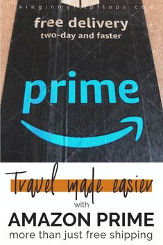 Think Amazon Prime is just free shipping? Think again! 6 more benefits to your Prime membership that we use to make family travel easier #AmazonPrime #savemoney #familytravel