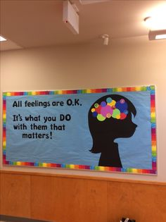 45 brilliant diy classroom decoration ideas & themes to inspire you 14 - New Deko Sites Counseling Bulletin Boards, Classroom Bulletin Boards, Classroom Door, School Classroom, Bulletin Board Ideas For Teachers, Kindness Bulletin Board, Health Bulletin Boards, Summer Bulletin Boards, Teacher Bulletin Boards