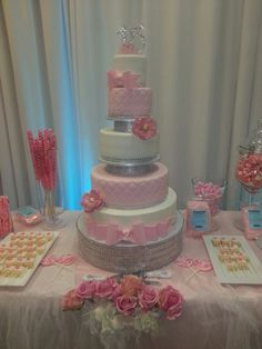 A Cake Studio L.A creation for our fairytale Quinceanera this past weekend.