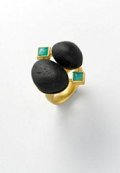 Stone ring.