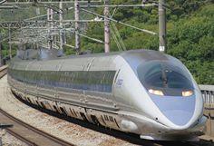 Trem bala Shinkansen do Japão