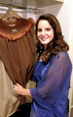 Lana Del Rey backstage at her concert in Mexico (2014) #LDR