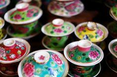 Peranakan tea cups