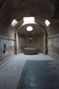 Pompeii's Forum Baths _ Photo: John Pawson