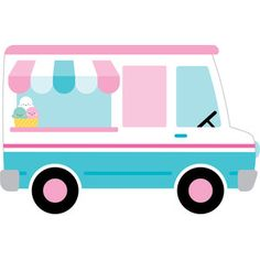Ice Cream Truck from the Sweet Summer Collection by Doodlebug Design. Ice cream truck from the Sweet Summer collection by Doodlebug Design. Ice Cream Car, Summer Ice Cream, Ice Cream Theme, Ice Cream Social, Nail Art Cupcake, Ice Cream Clipart, Ice Cream Poster, Ice Cream Design, Cream Candy