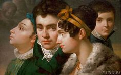 Merry-Joseph Blondel - Family Portrait