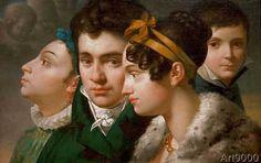 Merry-Joseph Blondel - Family Portrait
