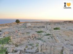 #Sunset over the ancient ruins of #Amathus, #Limassol. Photo: www.ILoveLimassol.com. Shared by Pissouri seaside rental villa Cyprus - Google+