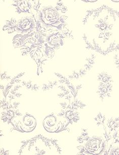 Collection Saratoga Toile wallpaper from Ralph Lauren