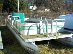 fix up an old pontoon boat