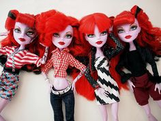 Operetta And The Phantoms, by Dead Fast  #monsterhigh #doll #operetta
