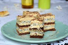 Prajitura Savana Romanian Desserts, Romanian Food, Torte Recepti, Cake Recipes, Dessert Recipes, Cake Factory, Torte Cake, Sorbet, Sweet Tooth