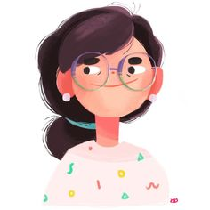 Super stoked about my new from 🤓🤓 Texture Illustration, People Illustration, Portrait Illustration, Illustrations, Character Illustration, Graphic Illustration, Cartoon Drawings, Cartoon Art, Cute Drawings