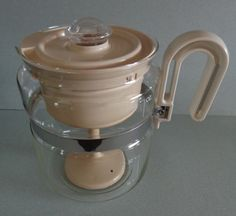 Vintage Gemco G Glass Percolator Coffee Pot by RocktheJewels