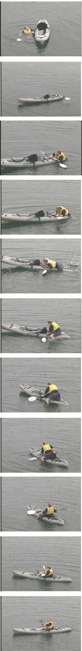 Sit-On-Top Scramble Recovery   How To Articles - Paddling.net