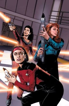 Deanna Troi, Ro Laren & Beverly Crusher