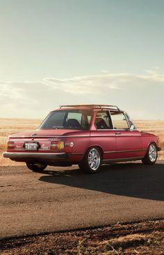 1976 BMW 2002, cool roof rack