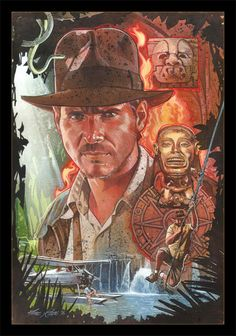 Indiana Jones by Mark Raats