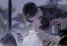 Ereri, Attack On Titan Ships, Attack On Titan Anime, Cute Gay Couples, Anime Couples, Eren E Levi, Handsome Anime, Cute Anime Guys, Anime Ships