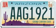 This website has a picture of the license plates for all 50 states. Potential door dec?