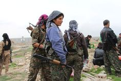 When Women Fight ISIS - The New York Times
