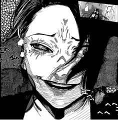 Tokyo ghoul:re chapter 76 Manga Art, Anime Manga, Anime Art, Nimura Furuta, Tokyo Ghoul Manga, Japanese Horror, Handsome Anime Guys, Scary Art, Sad Anime