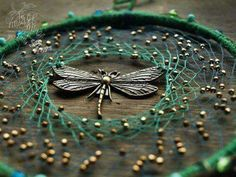 Dragonfly and beads