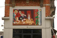 Billboard Painting by Stijn Felix