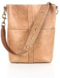 Frye Ilana Studded Leather Hobo Bag