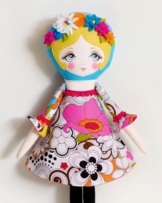 Poppy - PDF Pattern Cloth Doll by LolliDolls on Etsy https://www.etsy.com/listing/228754972/poppy-pdf-pattern-cloth-doll