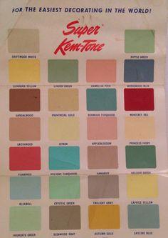 Vintage Paint Colors