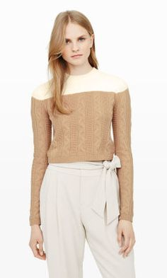 Alexios Cable-Knit Sweater