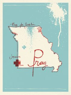 Art for Joplin posters from Moosylvania. $25 and all proceeds to go to help rebuild the city!