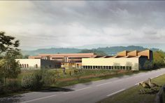 Positive energy High school & Gymnasium, Rumilly - France - ateliers r+