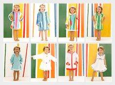 55e61896273 Cute beach/pool cover-ups from Terry Rich Australia. Beach Kids, Beach