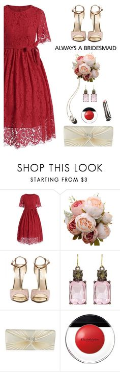 """""""Rosegal bridesmaid #11"""" by wannanna ❤ liked on Polyvore featuring Elizabeth Arden and Garance Doré"""