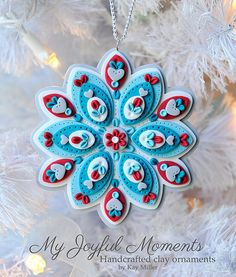 Hey, I found this really awesome Etsy listing at https://www.etsy.com/listing/186649410/handcrafted-polymer-clay-ornament