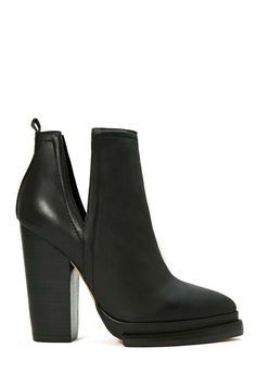 Jeffrey Campbell Who's Next Leather Boot - nastygal.com