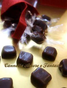 Caramelle Toffee al cioccolato e arancia