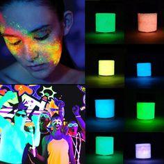 Barato 10 Ml Diy Pintura Pigmento Luminoso Brilho Pó de Grafite Partido Cosméticos Maquiagem Decoração, Compro Qualidade   diretamente de fornecedores da China:  descrição: tipo de pigmento: guache capacidade: 10 ml cor: Verde, branco, rosa, vermelho, amarelo, azul, violetas ingre