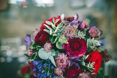 Floral Design by Boutique Blooms: Photo Credit: Babb Photo